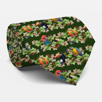 Tropical Tie (Dark Green)