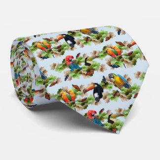 Tropical Tie (Light Blue)