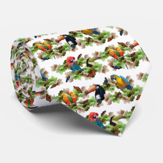 Tropical Tie (White)