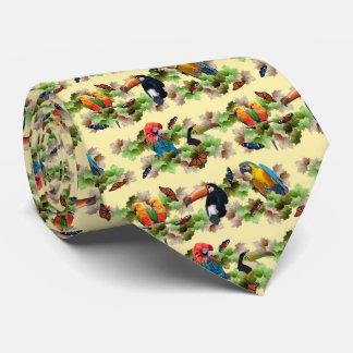 Tropical Tie (Yellow)