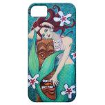 Tropical Tiki Mermaid iPhone 5 Case