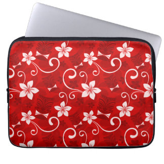 Tropical Tiki Red Computer Sleeves