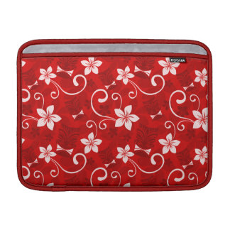 Tropical Tiki Red MacBook Air Sleeves