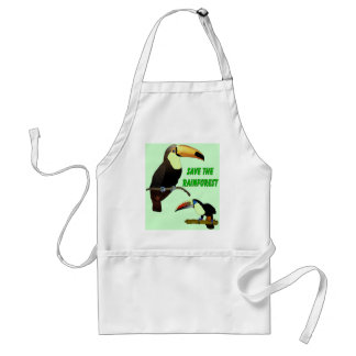 Tropical Toucan Adult Apron