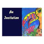 "Tropical Toucan Invitations 5"" X 7"" Invitation Card"