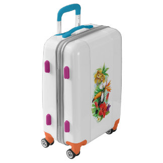 Tropical Toucan (left) Luggage Suitcase