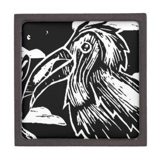 Tropical Toucan Print Keepsake Box
