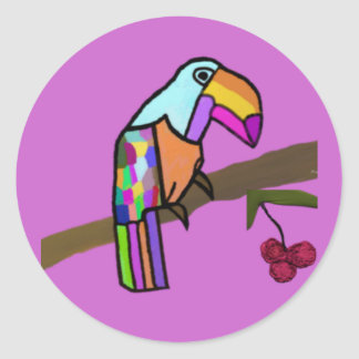 Tropical Toucan Stickers