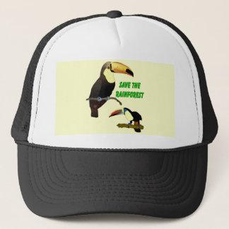 Tropical Toucan Trucker Hat