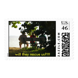 tropical tourist - Customized Postage Stamps