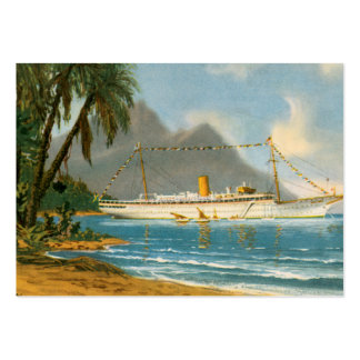 Tropical Travels Large Business Cards (Pack Of 100)