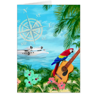 Tropical Travels Card