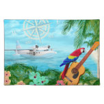 Tropical Travels Cloth Placemat