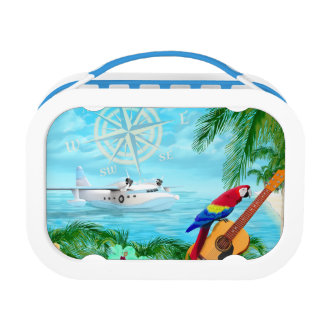Tropical Travels Lunch Box
