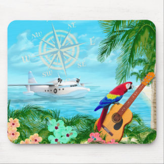 Tropical Travels Mouse Pad