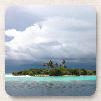 Tropical Treasure Cove Island Coasters