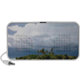 Tropical Treasure Cove Island Notebook Speaker