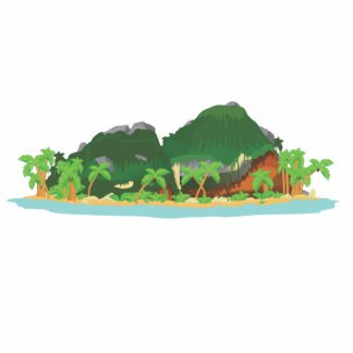 Tropical Treasure Island Photo Sculpture