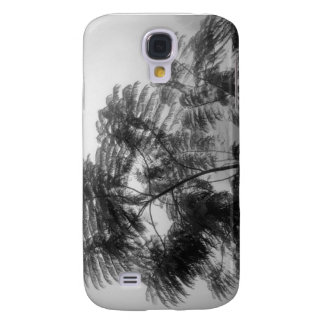 Tropical Tree Black and White in fog Samsung Galaxy S4 Cover