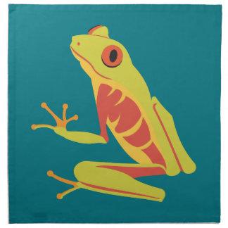Tropical Tree Frog Napkin
