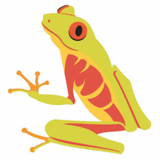Tropical Tree Frog Statuette