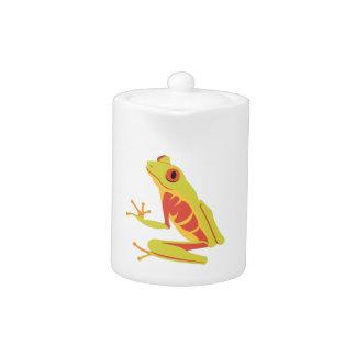 Tropical Tree Frog Teapot