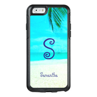 Tropical Turquoise Beach View - OtterBox iPhone 6/6s Case