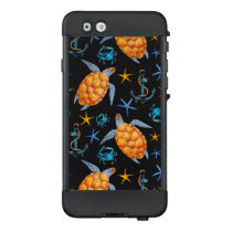 Tropical Turtles Lifeproof Nuud iPhone Case
