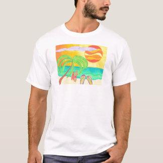 Tropical Twilight Glow T-Shirt