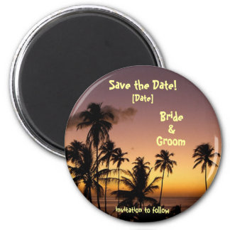 TROPICAL TWILIGHT MAGNET