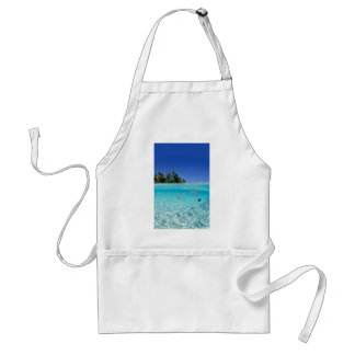 Tropical Underwater Adult Apron