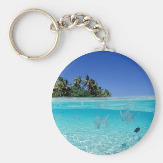 Tropical Underwater Keychain