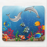 Tropical Underwater World Mouse Pad