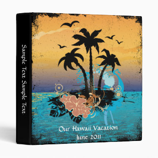 Tropical Vacation Album 3 Ring Binders