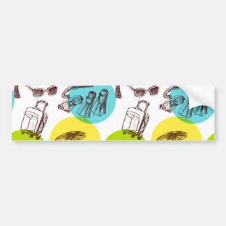 Tropical vacation bumper stickers
