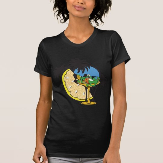 Tropical Vacation Gecko T-Shirt