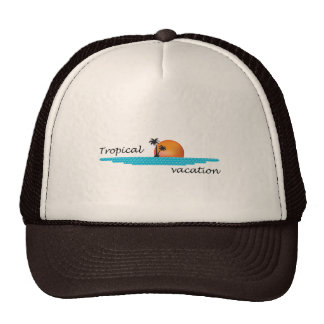 Tropical Vacation Trucker Hat