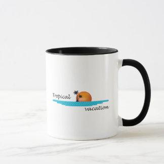 Tropical Vacation Mug