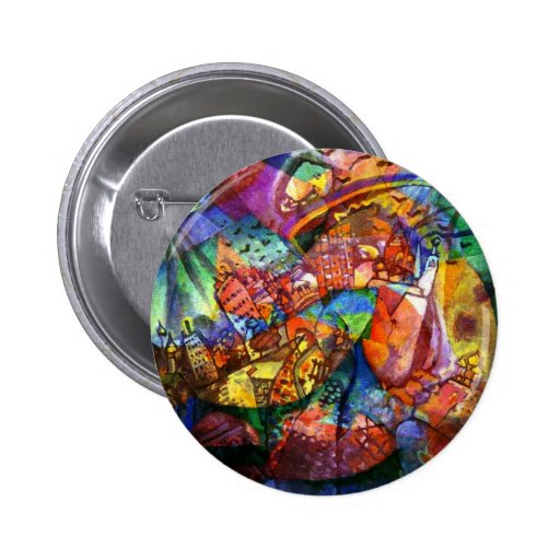 TROPICAL VACATION PINBACK BUTTONS