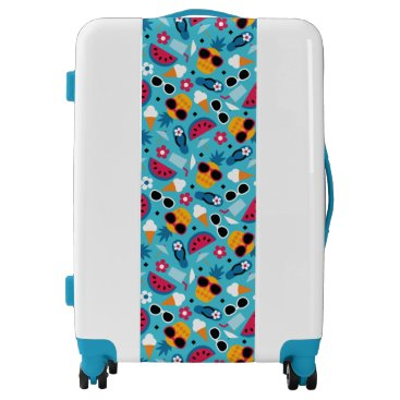 Tropical Vacation Seamless Pattern Luggage