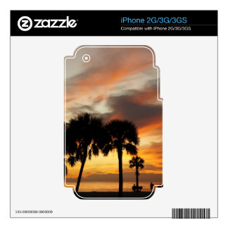 Tropical Vacation iPhone 3GS Decal