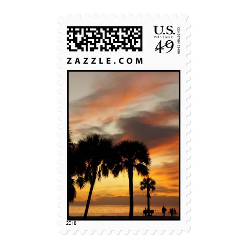 Tropical Vacation Stamps
