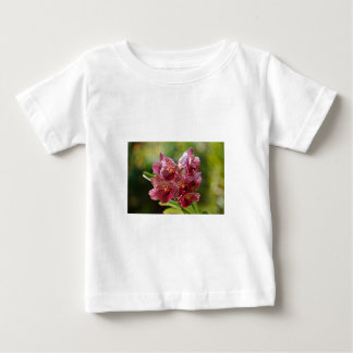 Tropical Vanda Orchid Cluster Baby T-Shirt