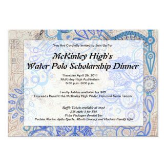 Tropical Vibe Fundraiser Business Luncheon - 5x7 Paper Invitation Card