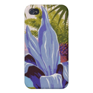 Tropical Vintage  Case For iPhone 4