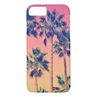 Tropical Vintage Palms Girly iPhone 7 Case