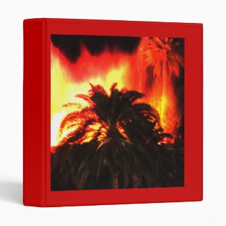 Tropical Volcano Avery Binder