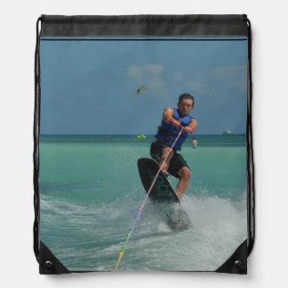 Tropical Wakeboarding Backpack