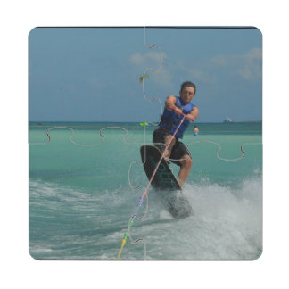 Tropical Wakeboarding Puzzle Coaster