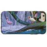 Tropical Waterfall, Flamingo, and Ibis Tough iPhone 6 Plus Case